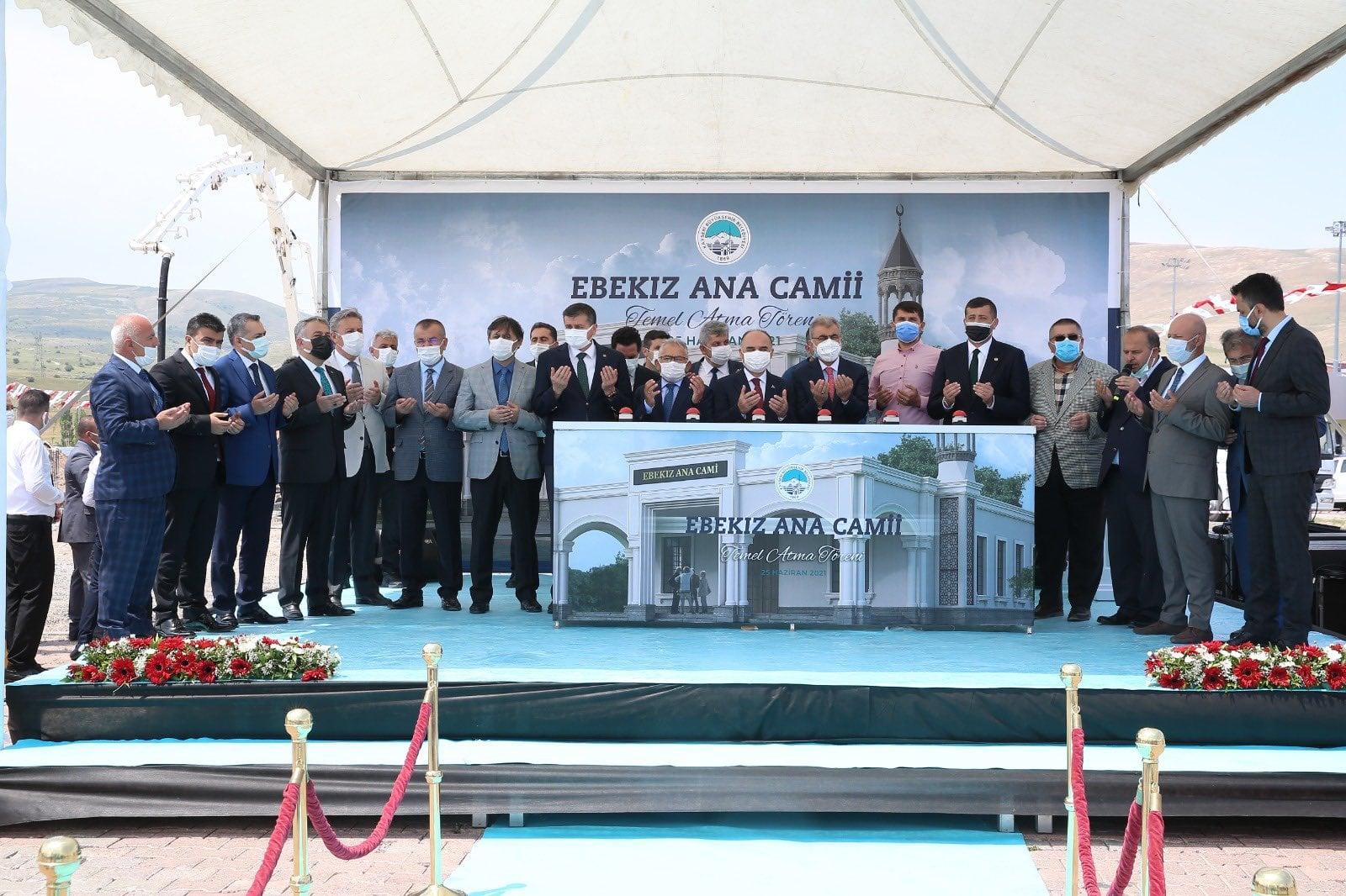 Ebekız Ana Camii Temel Atma Töreni Gerçekleştirildi