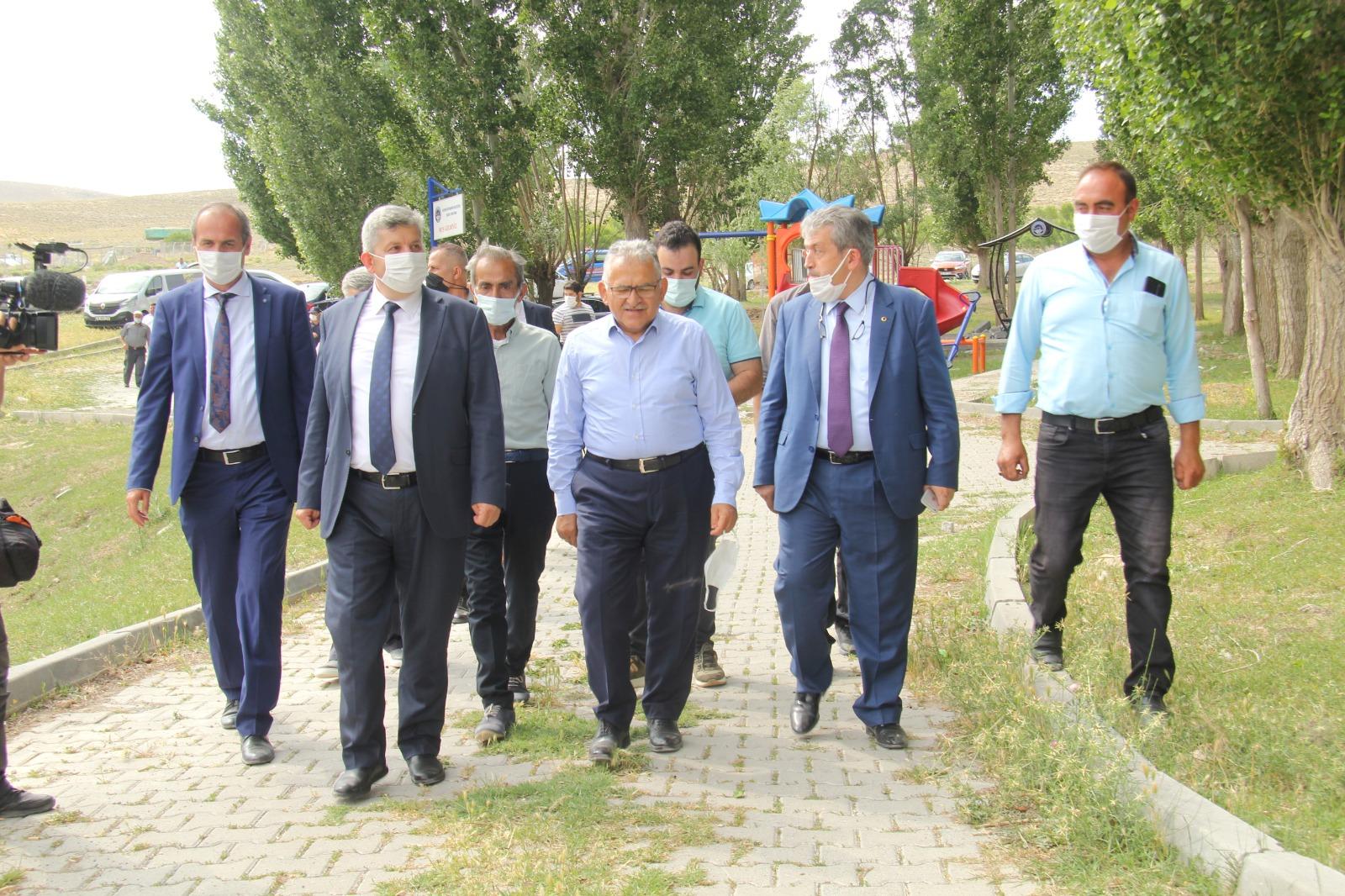Elbaşı ve Karatay mahallelerine ziyaret gerçekleştirildi