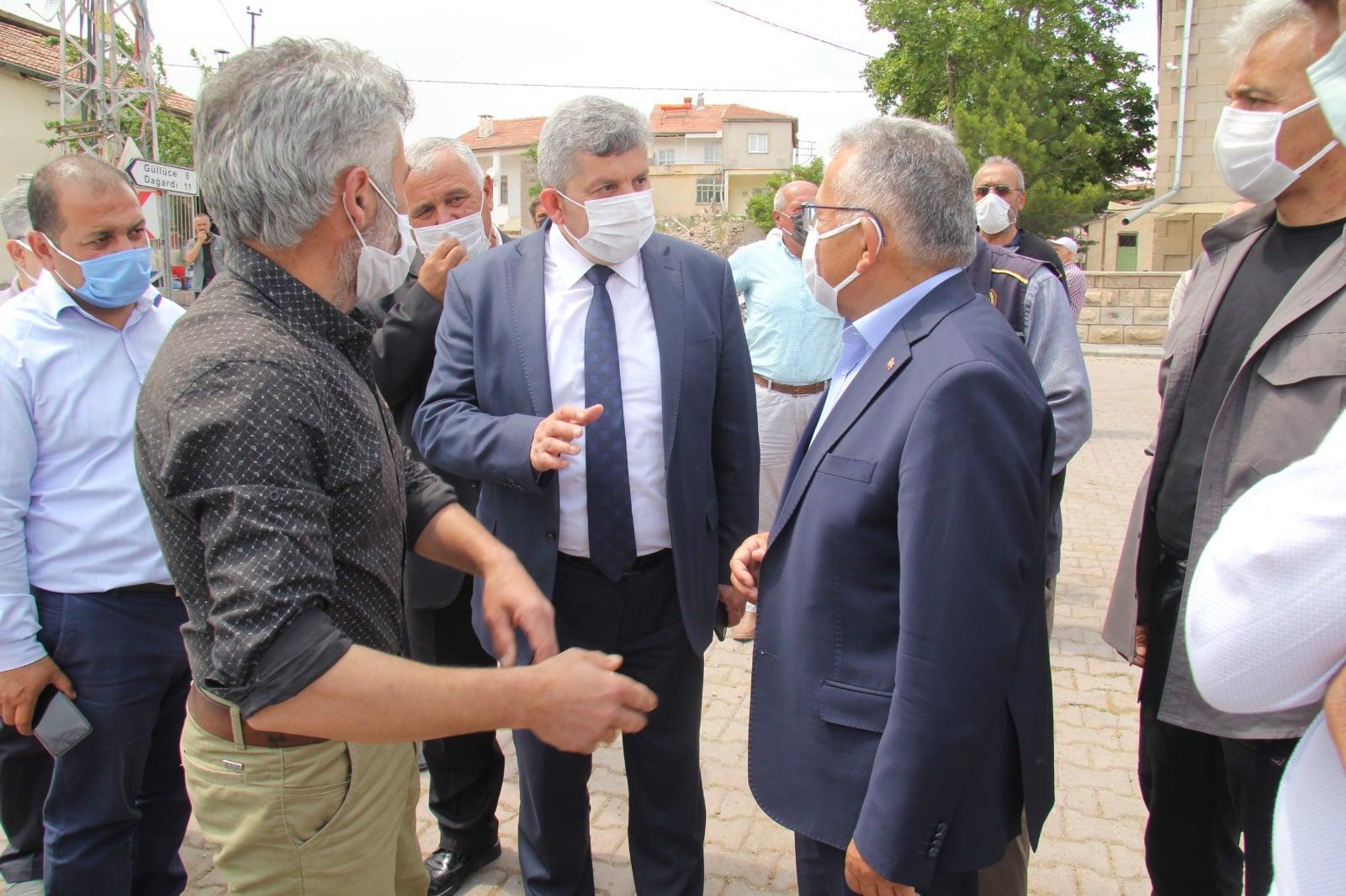 Güzel Bünyan'ımızın Yenisüksün Mahallesine ziyaret gerçekleştirildi